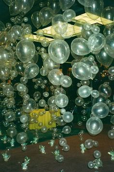 Clear Balloons bubbles