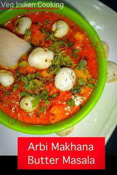 How to make Arbi Makhana Butter Masala Indian Food Recipes, Ethnic Recipes, Indian Snacks, Vegetarian Recipes, Homemade Pesto Sauce, Indian Cookbook, Fried Fish Recipes, Indian Kitchen, India Food