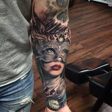 Image result for venice mask tattoo