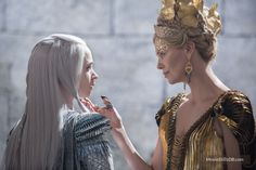 The Huntsman Winter's War (2016) Emily Blunt and Charlize Theron