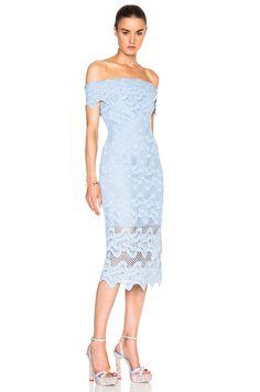 Image 3 of NICHOLAS Off Shoulder Dress in Cashmere