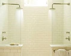 tiled double shower with glass door - Google Search