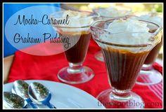 The V Spot: Mocha-Caramel Graham Pudding (An easy, make-ahead summer dessert)