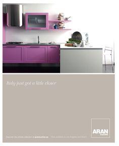 Cute Purple kitchen