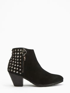 ASH MAIN LINE, Ankle Boots, Nevada Black