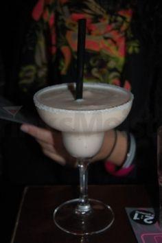 Banana boat cocktail