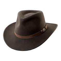 RedHead® Wool Felt Leather Trim Hat with Earflaps for Men | Bass Pro Shops