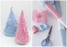 https://flic.kr/p/dA25Eq | Paper Christmas Tree | blogged on cafenoHut