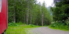 Live away from it all, while remaining in Eagle River. Enjoy the stunning mountain and river views awaiting you on this large lot located adjacent to the Eagle River Nature Center. Complete with a fully finished cabin, including electricity to the lot
