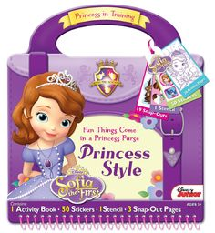 Amazon.com: Bendon Disney Sofia The First Style Activity Purse: Toys & Games