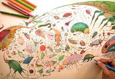 vorja ilustración #biblioteques_UVEG
