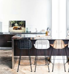 All About Interieur Inspiratie Blog: Interieur inspiratie   krukken in de keuken