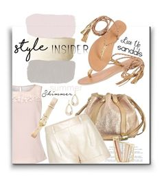 """""""Soft Summer Style"""" by kateo ❤ liked on Polyvore featuring See by Chloé, Cocobelle, Jacques Vert, Diane Von Furstenberg, Lauren Ralph Lauren, Alexis Bittar, contestentry, laceupsandals, 5723 and PVStyleInsiderContest"""