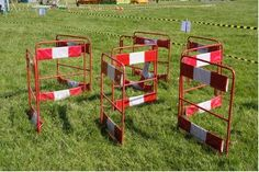 Obstacle course for dogs and kids
