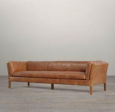 """96"""" Sorensen Leather Sofa $2090"""
