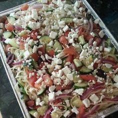 Weight Watchers Greek Pasta Salad