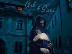 Dark Hunters....Acheron and Simi
