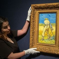 Vincent Van Gogh painting to be sold at Christies Art Auction