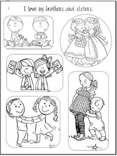 LDS ACTIVITY IDEAS: Coloring Page