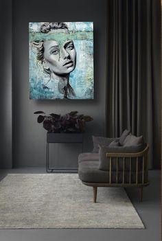 Portrait Flat Screen, Portrait, Art, Blood Plasma, Art Background, Headshot Photography, Kunst, Flatscreen, Portrait Paintings