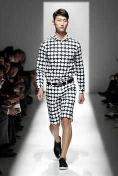 Pierre Balmain SS2013 - NYFW: Dots