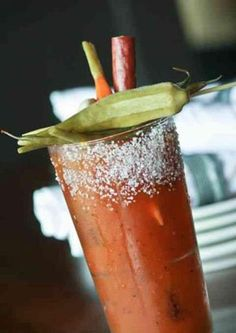 Huge list of bloody mary recipes for the classier resaca side, maybe bring to the park and have mate after  it finally warms up?
