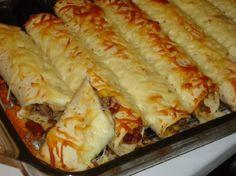 Meksicke palacinke-Burritos