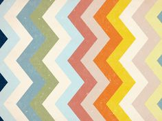 Zigs and Zags by Kacie Yates - awesome, can I have this in a blanket or rug??