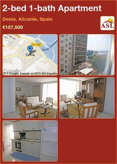 2-bed 1-bath Apartment in Denia, Alicante, Spain ►€157,500 #PropertyForSaleInSpain