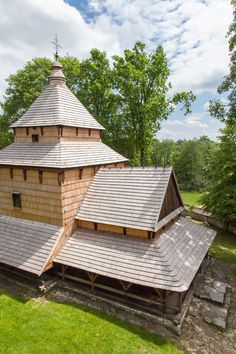 Radruz wooden Greek Catholic Tserkva from 16th century, Radruz-Poland ✿ (UNESCO World Heritage site)