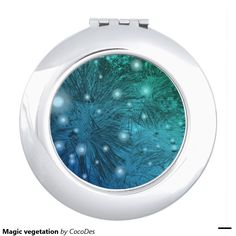 A compact mirror from Zazzle! Compact Mirror, Makeup Tools, Mirrors, Vanity, Magic, Dressing Tables, Powder Room, Makeup Dresser, Mirror
