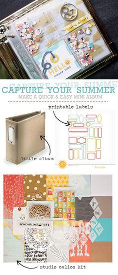Inspiration: Capture Your Summer Mini Album