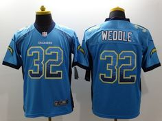game women jersey san diego chargers 32 weoole blue jersey san diego chargers 32 eric weddle drift f