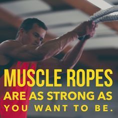 Get serious with Muscle Ropes. Find high-end battle ropes, climbing ropes and heavy jump ropes. Invest in the best. --> muscleropes.com