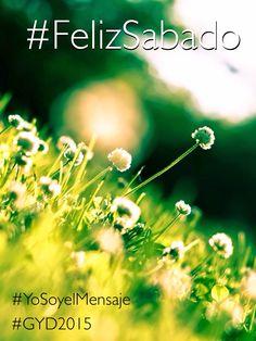 En el Día Mundial de la Juventud te deseamos un #FelizSabado #GlobalYouthDay #GYD15 #BeTheSermon #YoSoyelMensaje