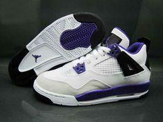 Really Cheap Big Boys Air Jordan 4 Ultraviolet 487724 108 4e2396e84