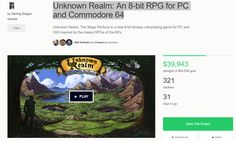 Kickstarter Spotlight - Unknown Realm - http://www.thecaverns.net/Wordpress/kickstarter-spotlight-unknown-realm/