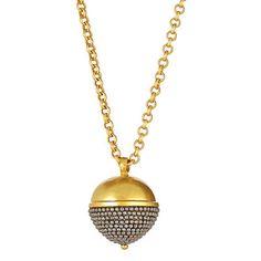 Julie Vos Acorn Necklace