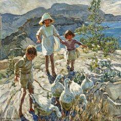 'A CORNISH HOLIDAY' | Dorothea Sharp     ✫ღ⊰n