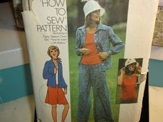 Far Out Vintage Sewing Pattern Simplicity by MrsPsSewingEmporium