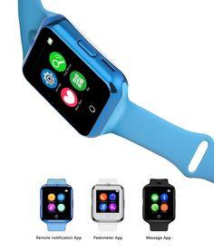 H1 Pulsmesser Smart Uhr Bluetooth Fitness tracker armbanduhr günstigen preis 2G SIM Smartwatch //Price: $US $18.60 & FREE Shipping //     #meinesmartuhrende