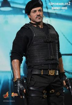 Hot Toys : The Expendables 2 - Barney Ross