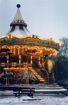 We do adore Carrousel Art Du Cirque, Amusement Park Rides, Carnival Rides, Painted Pony, Merry Go Round, Carousel Horses, Vintage Circus, Parcs, Beautiful Horses