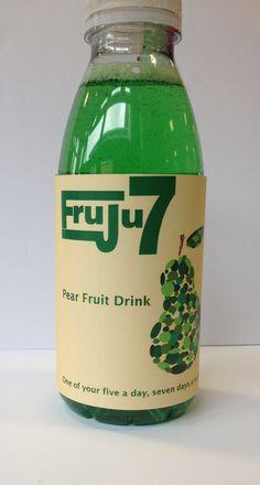 Label on bottle front