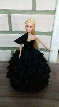 boneca customizada com EVA.