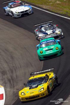#4 Corvette Racing Chevrolet Corvette C6 ZR1: Oliver Gavin, Tom Milner #alms