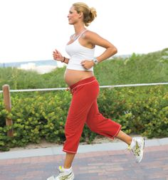 Someone else who understands how meaningful running while pregnant is! ❤'d running when I was pregnant!!!