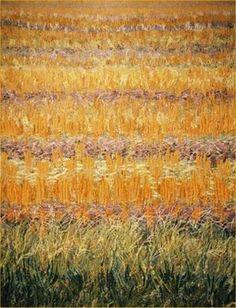 Textile artist Jan Beaney