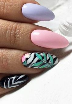 SPECIAL SUMMER NAIL DESIGN FOR EXCEPTIONAL LOOK