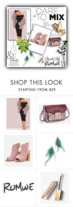 """""""ROMWE 3/10"""" by women-miki ❤ liked on Polyvore featuring Burberry, ASOS, LSA International, dress and women"""